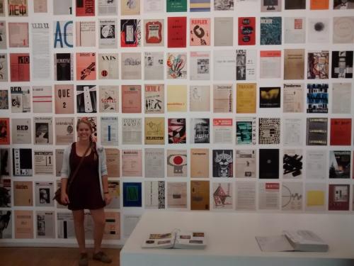 Exhibit at the Centre Pompidou