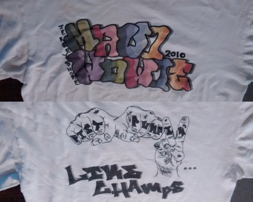 the infamous t-shirt